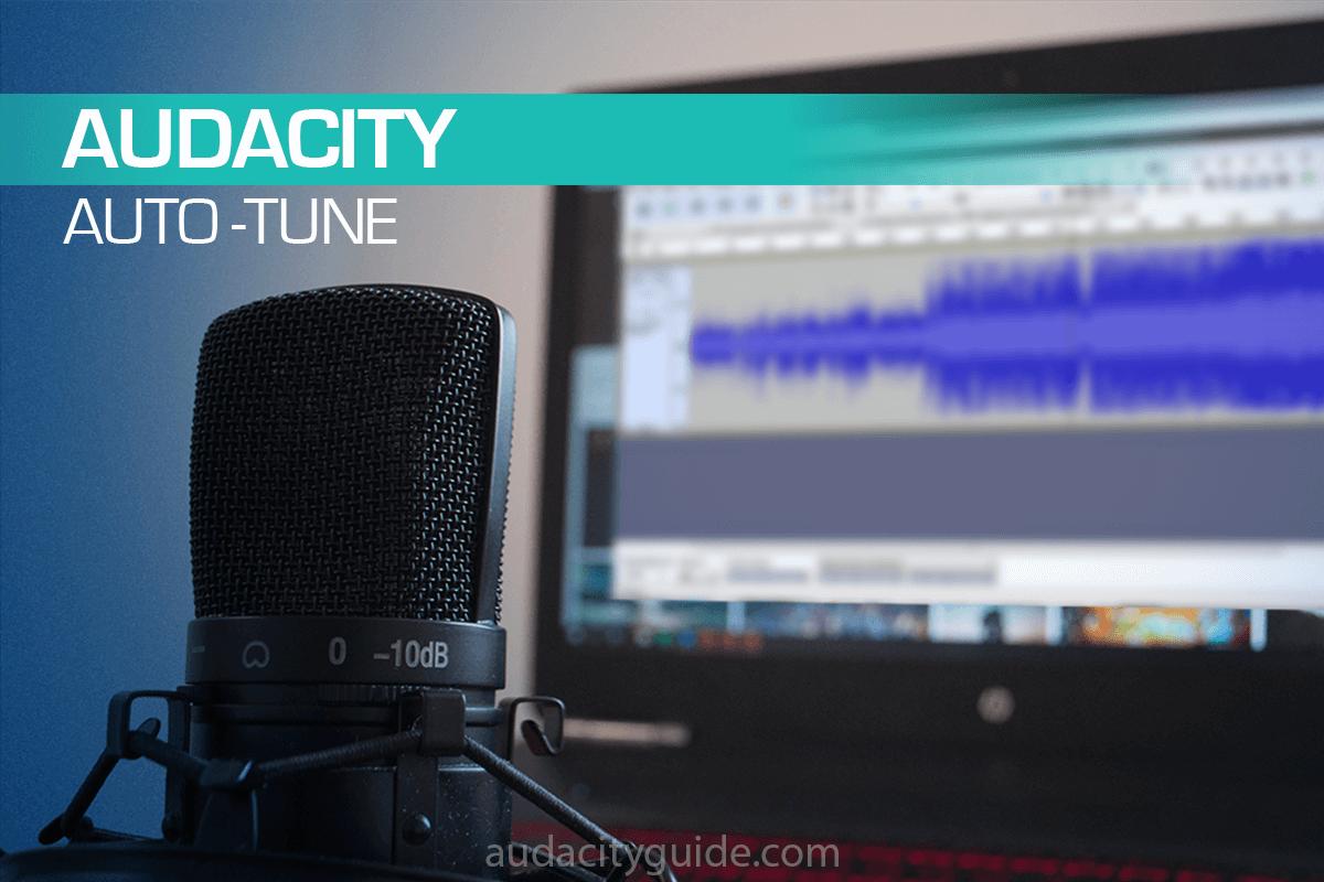 how to autotune in audacity
